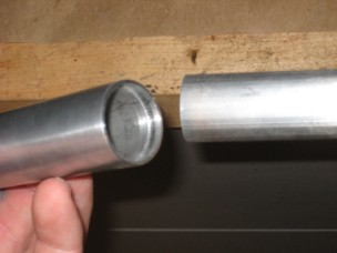 Aluminum Tube with internal Snap Ring Groove
