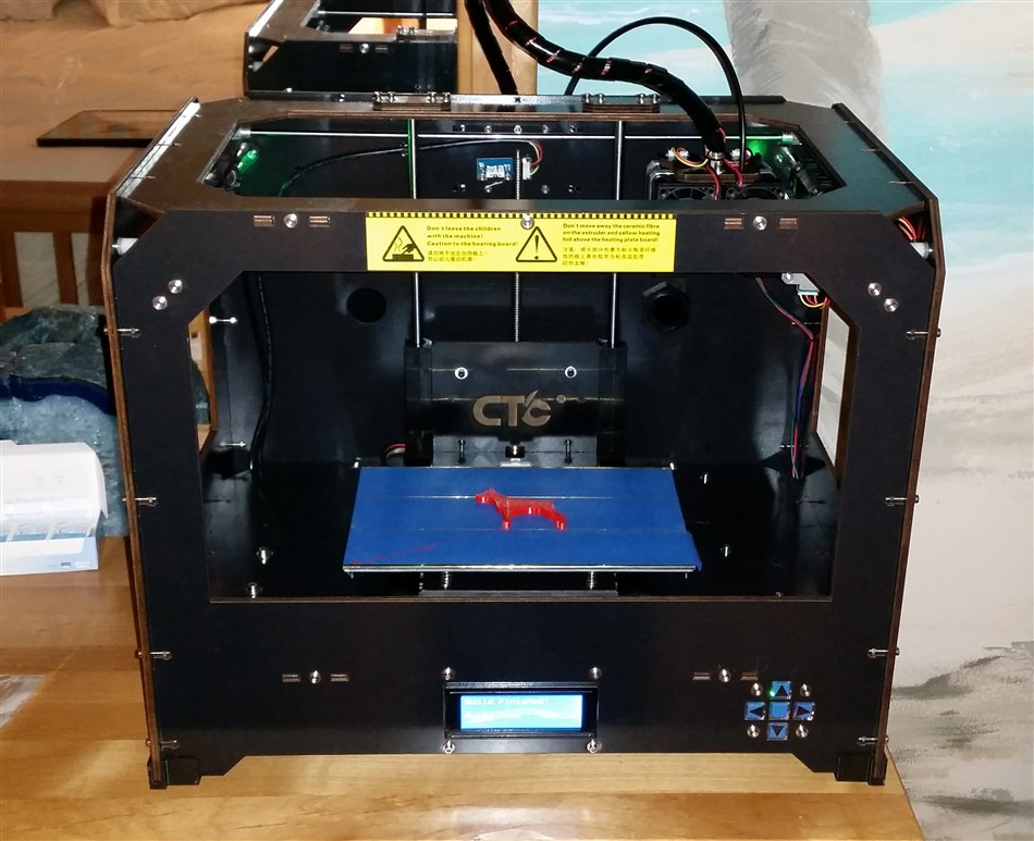 Review of The CTC 3D Printer