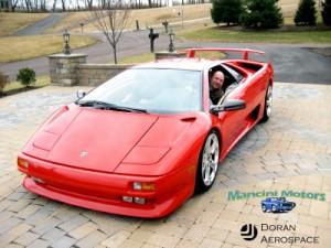 1998 Lamborghini Diablo Front Side View