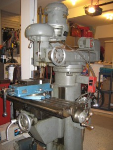 Millrite Milling Machine side view