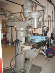 Burke Millrite Milling Machine